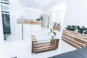 poczekalnia gabinety stomatologiczne Medicodent Kielce