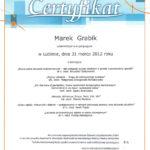 leczenie endodontyczne - certyfikat specjalisty stomatologa Medicodent Kielce