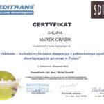 wybielanie zębów - certyfikat specjalisty stomatologa Medicodent Kielce