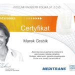 Uzupełnienia protetyczne - certyfikat specjalisty stomatologa Medicodent Kielce